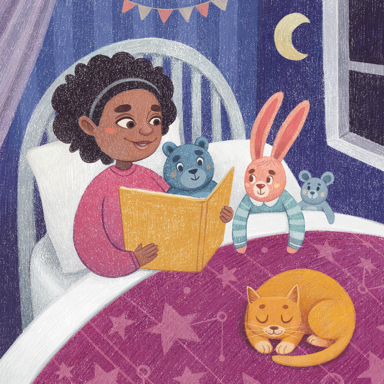 Children's illustration by Margarita Levina