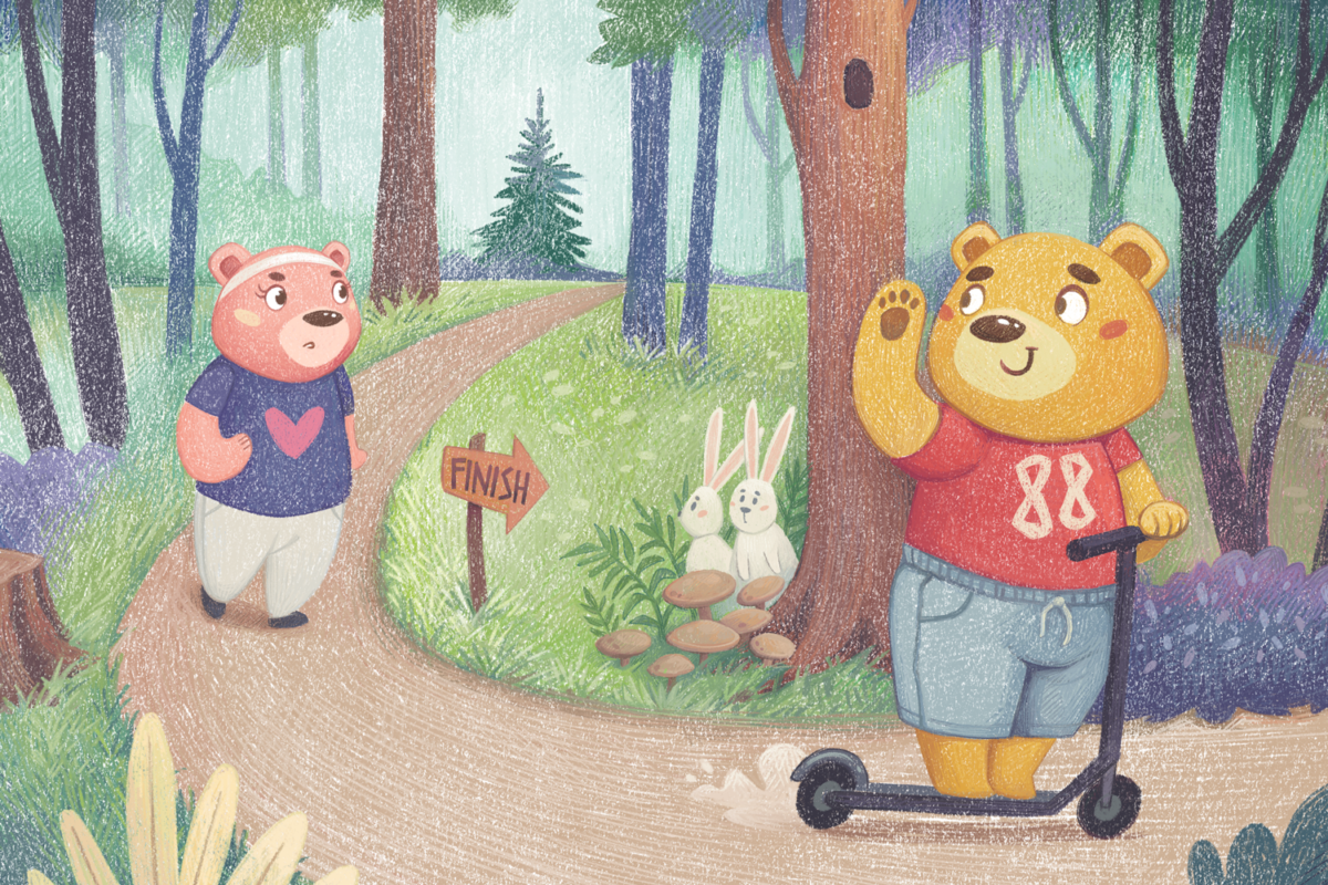 Bears at the Forest